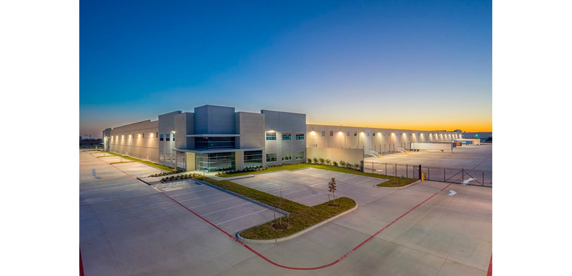 The new distribution centre in Houston