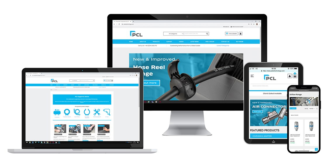 New PCL website