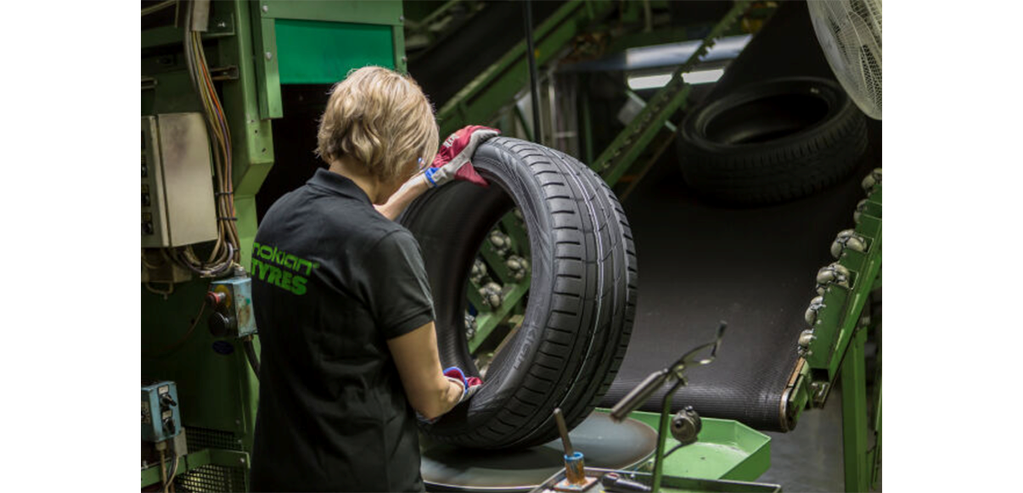 Nokian Tyres tyre production