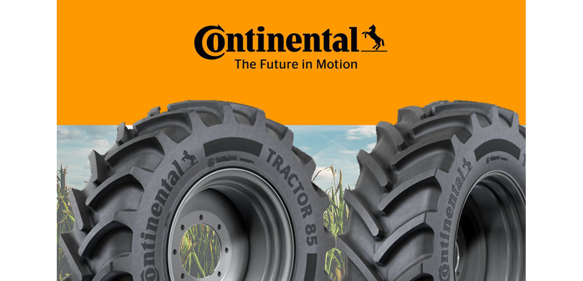 Continental's agricultural tyres