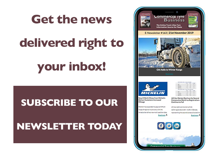 Subscribe to the Commercial Tyre Business newsletter